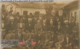 1931 Absolventi ai Seminarului si profesori in anul