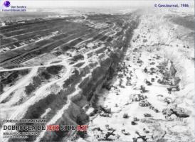 1986 Canalul Dunare Marea Neagra  la est de Basarabi foto