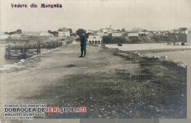 Vedere din Mangalia, imagine de colecție din secolul XX