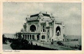 Cazinoul din Constanța așa cum arăta în perioada interbelică, în anul 1925