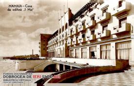 """Casa de odihnă """"1 Mai"""", de la Mamaia, văzută în anul 1959"""