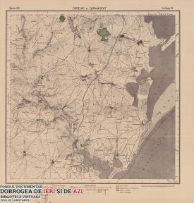 Hartă Cogealac 1916
