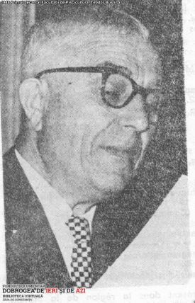 1948 Primul decan al Facultatii de Piscicultura Teodor Busnita