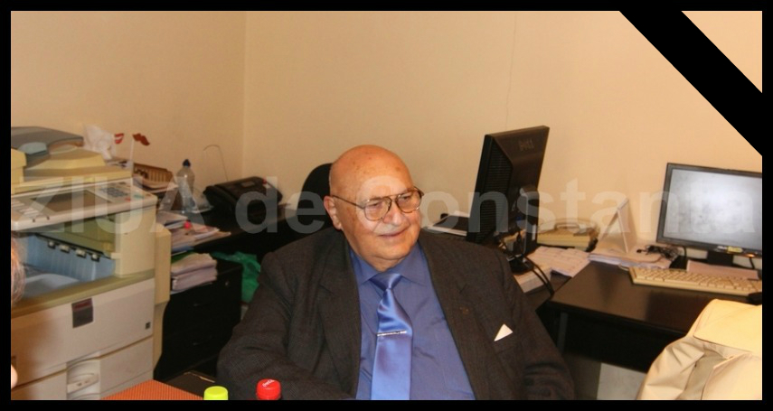 UPDATE. Doliu in comunitatea academica din Constanta. Profesor universitar dr. ing. Garabet A. Kümbetlian s-a stins din viata