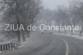 Informare meteo. La noapte se depune zăpada. Meteorologii anunță lapoviță și ninsoare în Dobrogea
