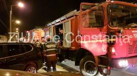 Incendiu în județul Tulcea. Se intervine cu două autospeciale și 12 subofițeri