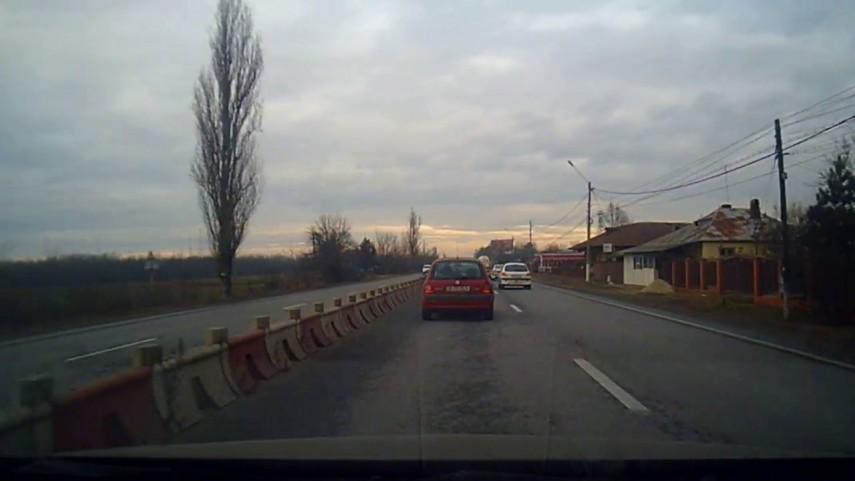Trafic oprit pe DN7 in judetul Arges