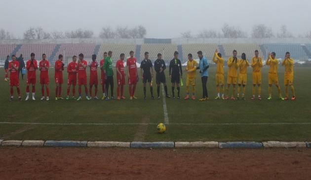 Partida amicala dintre Sageata si FC Farul s-a disputat la Navodari