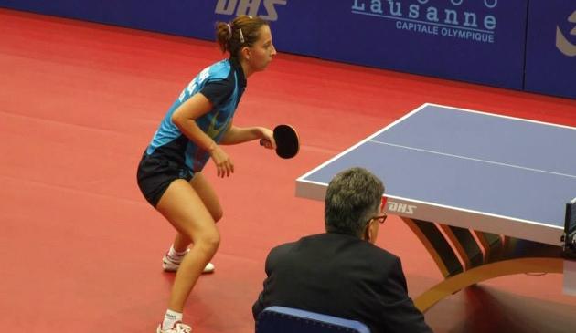 Eliza Samara este cea mai buna jucatoare de tenis de masa din Romania