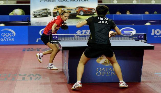 Eliza Samara a facut pereche la Openul Qatarului cu Dana Dodean