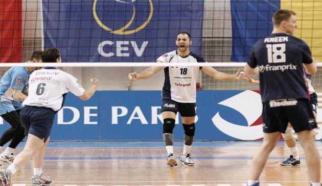 Campioana Romaniei la volei masculin este favorită la calificarea in finala Cupei CEV