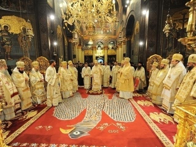 program slujire sfantul sinod
