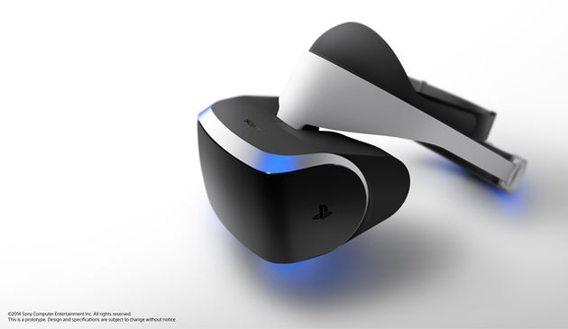 Sony, Morpheus, casca, realitate, virtual, PlayStation 4