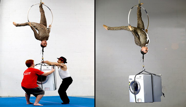 Simone Genziuk, acrobat, cascadorie, spectacol