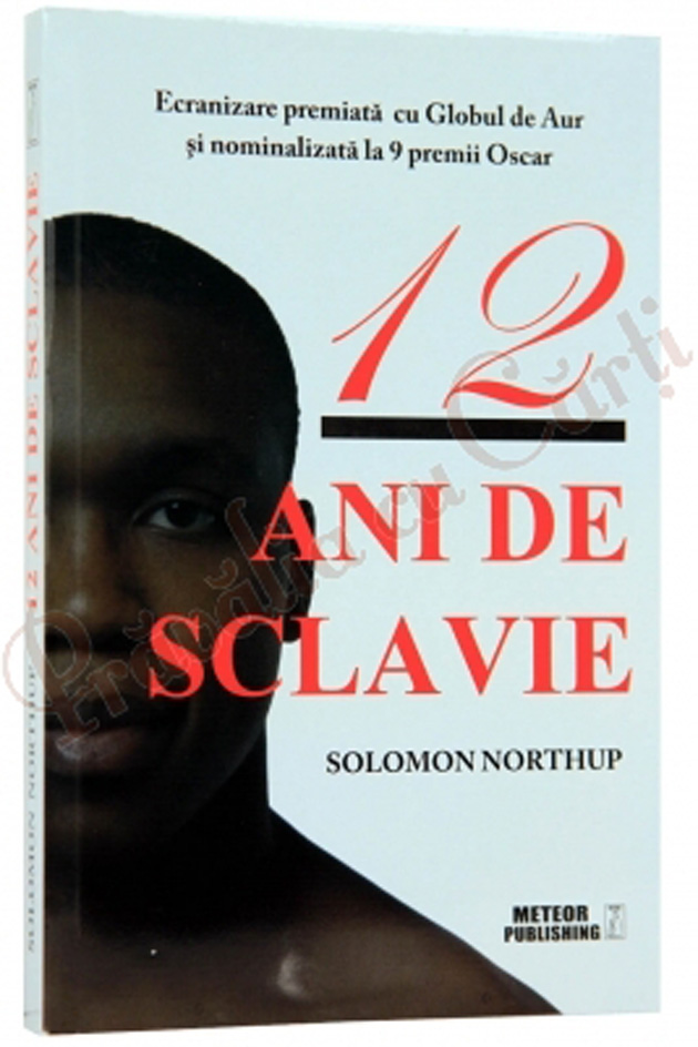 12 ani de sclavie, Solomon Northup, carte