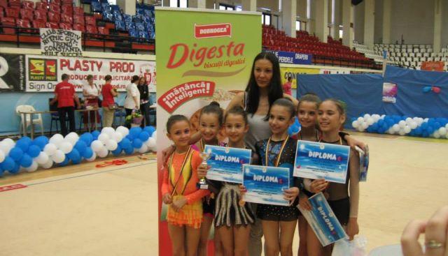 css1 constanta, medalie de bronz, campionat national gimnastica ritmica constanta 2014, filis serif