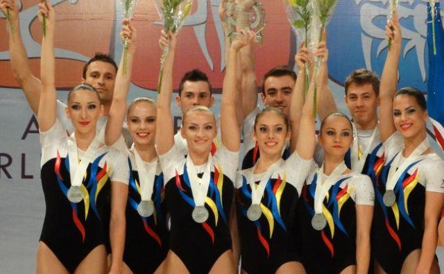 campionatul mondial de gimnastica aerobica cancun 2014, cs farul constanta, gimnastica aerobica, corina constantin, anca surdu