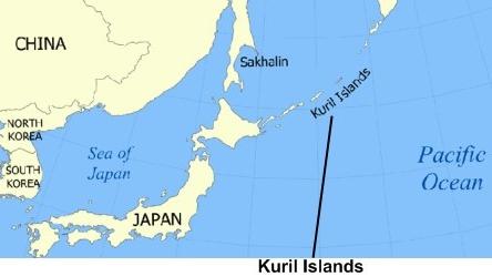insulele kurile