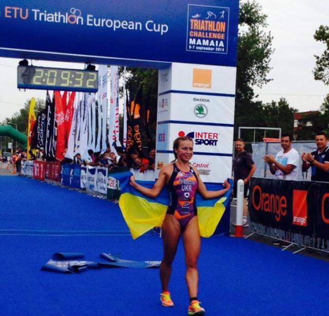 yilina yelistratova elite women, radu mazare triathlon challenge mamaia, scoala karate mamaia
