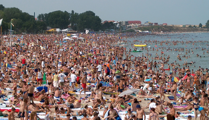 Imagini pentru aglomeratie litoral