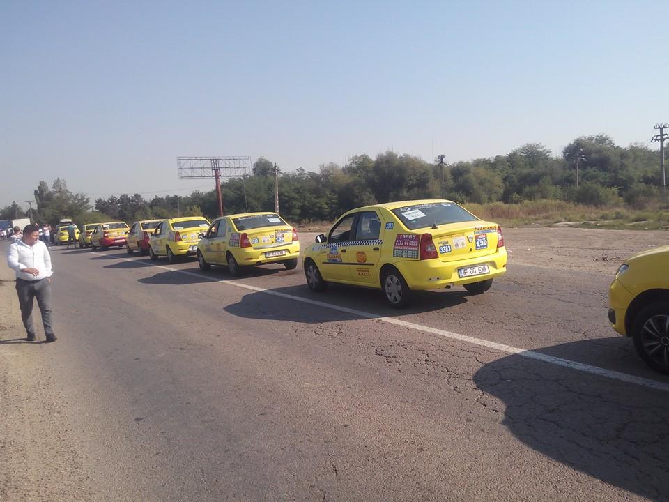 Protest Taximetristi: Un Protest Al Taximetriștilor A Blocat Șoseaua De Centură