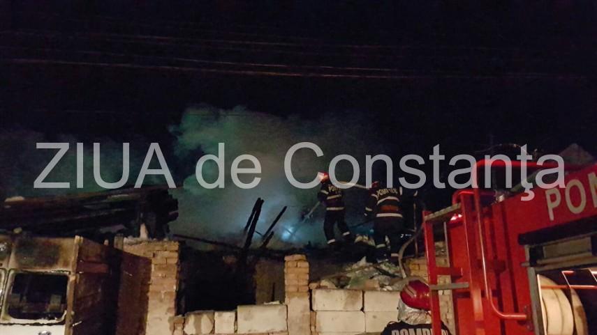 incendiu in cumpana pompierii intervin 620558