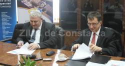 Protocol între CN APM SA şi Operatorul Portuar. Şi-au unit eforturile pentru dezvoltarea Portului Constanţa (galerie foto)