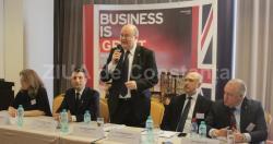 """Seminar la Constanţa Paul Brummell, ambasadorul Marii Britanii - """"Investiţii britanice se regăsesc în diverse domenii din România"""" (galerie foto)"""