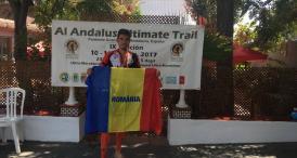 Performanţă Andrei Badiu, din Constanţa, s-a clasat pe locul şase la ultramaratonul montan din Spania (galerie foto)