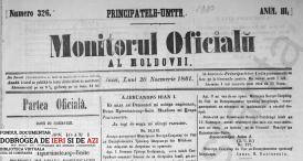 1861 Monitorul Oficialu: Al Moldovei nr. 326