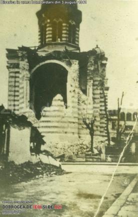 1941 Biserică în urma bombardării din 3 august
