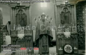 1953 Pr Nicolae Cananau in catedrala
