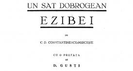 """""""Un sat dobrogean. Ezibei"""", de C. D. Constantinescu-Mirceşti (1939)"""