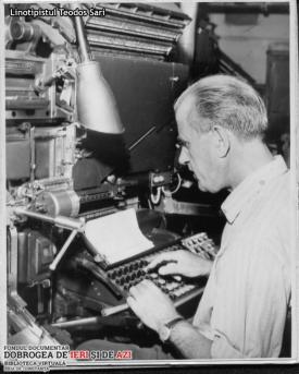 1969 Linotipistul Teodos Sari
