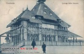 Stația de cale ferată Mamaia în 1905