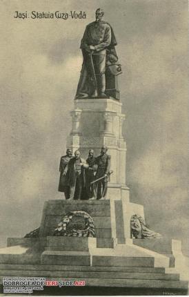 Statuia lui Alexandru Ioan Cuza din Iasi