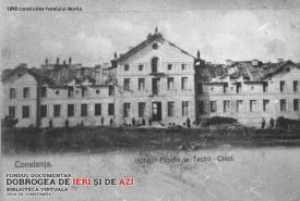 Techirghiol Construirea Hotelului Movila