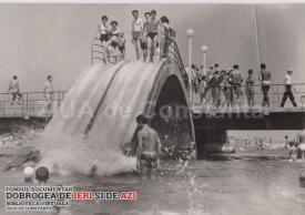 Toboganul de la Mamaia într-o zi de vară din anii \'60