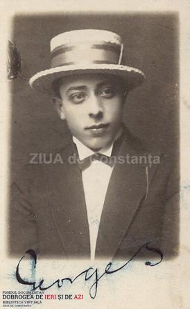 1920 Georges artist liric care canta pe scena Cazinoului