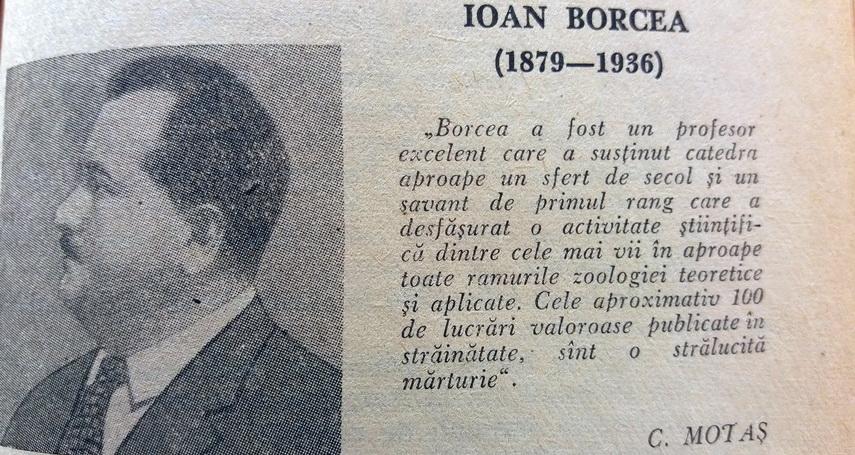 Imagini pentru naturalistul Ioan Borcea,