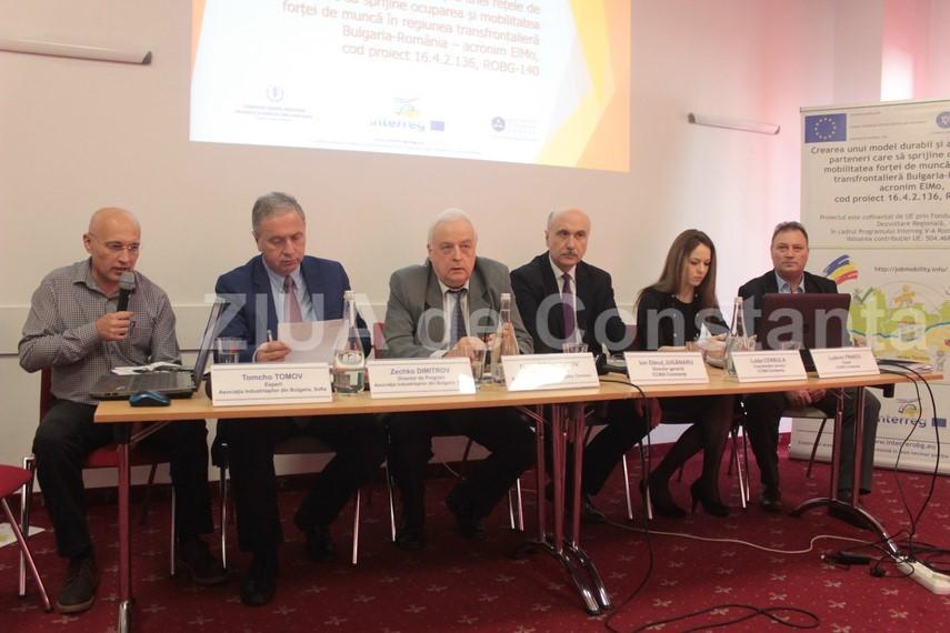 mobilitatea fortei de munca in atentia ccina constanta si a asociatiei industriasilor din bulgaria primele