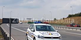 Zeci de șoferi vitezomani depistați pe autostrăzi. Unde a fost înregistrat recordul de viteză