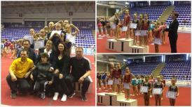Medalii peste medalii. Au monopolizat podiumul  Gimnastele de la CSS1 Constanţa, impecabile la Campionatul Naţional de la Buzău (galerie foto+documente)