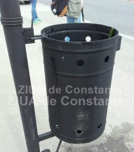 Licitaţie cu bani mulţi în joc pentru rezolvarea problemei  Primăria recunoaşte - coşuri de gunoi insuficiente în municipiul Constanţa şi mobilier stradal deteriorat!