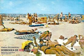O zi de plajă la Mangalia, în vara anului 1987