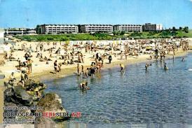 Plaja din Mangalia în 1970