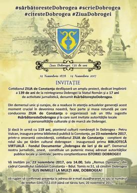 Dobrogea 139 de ani: Eveniment fără precedent realizat de un ziar local, închinat Dobrogei la aniversare