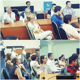 Caravana PNL. Va continua seria seminarelor şi dezbaterilor din care să reiasă soluţii şi pentru Constanţa