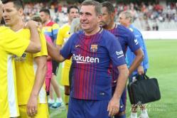 """""""E brazilian"""" Gică Hagi a marcat pentru Legendele Barcelonei în meciul cu Generaţia de Aur a României (galerie foto)"""