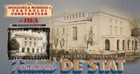 """1951, Inaugurare Teatrul de Stat (clădirea care se numeşte astăzi Teatrul Naţional de Operă şi Balet """"Oleg Danovski\"""